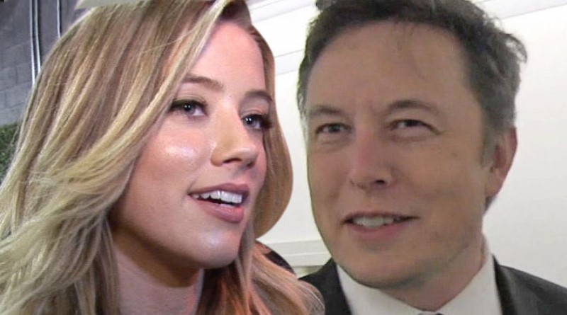 Amber Heard Hangin' a Lot with Elon Musk