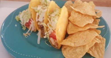 Oh So Good, Pulled Pork Hard Shell Tacos