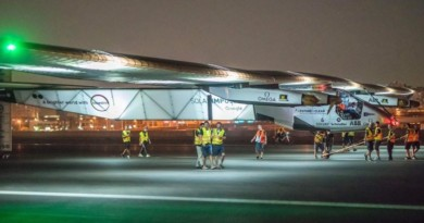 Solar-Powered Plane Completes First Round-the-World Flight