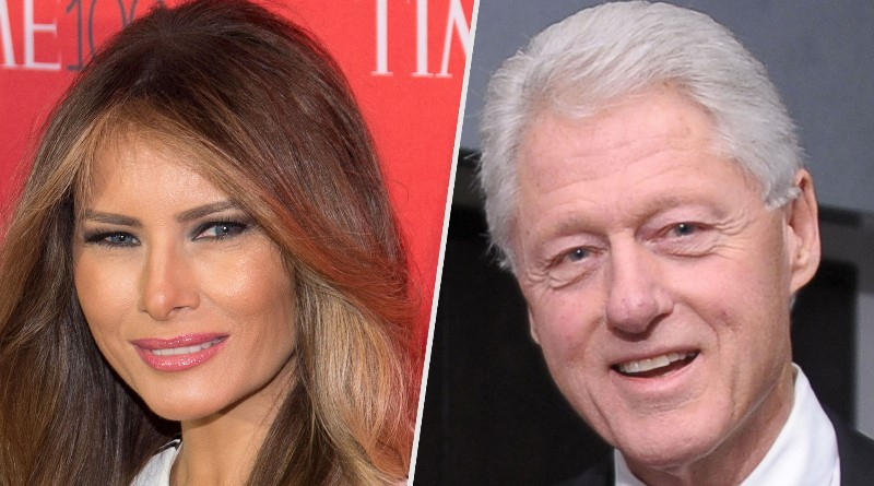 Melania Trump and Bill Clinton Square Off In What Used to Be Called the 'First Lady Cookie Contest'
