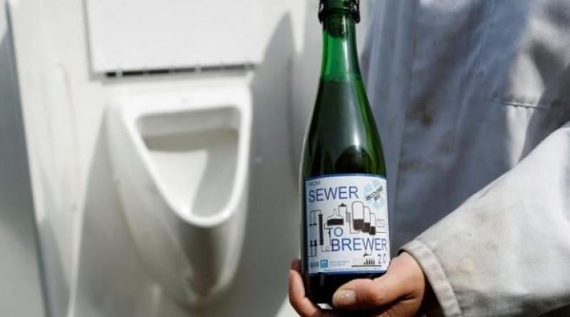 Scientists use solar-powered machine to turn urine into beer