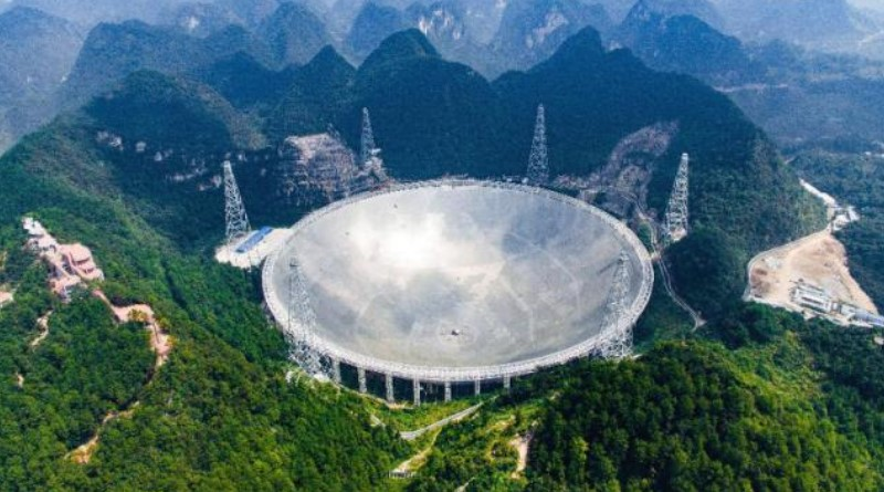 China begins operating world's largest radio telescope
