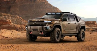 GM, U.S. Army Unveil Chevrolet Colorado ZH2 Fuel Cell Truck