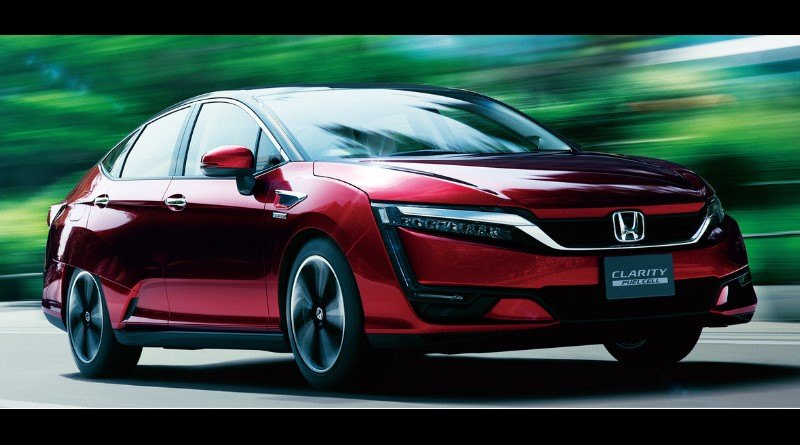 Honda's Clarity Fuel Cell can drive 366 miles on a single tank of hydrogen