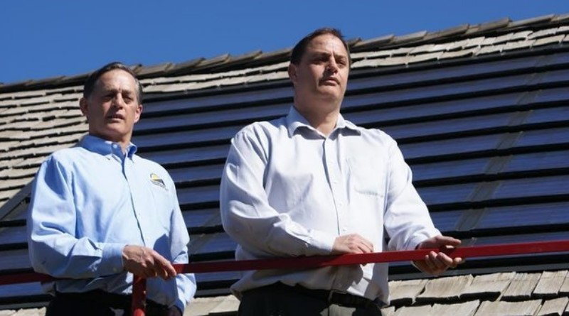 Elon Musk Could Become A Solar Roofing Goliath. This Guy Is His David.