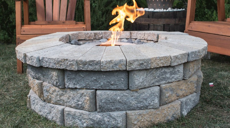 Build a Clean Burning Fire Pit