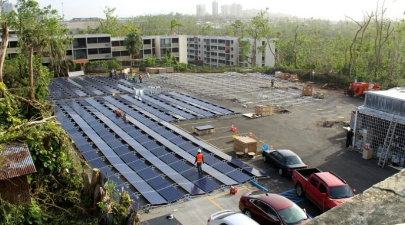 Tesla makes quick work of Puerto Rico hospital solar power relief project